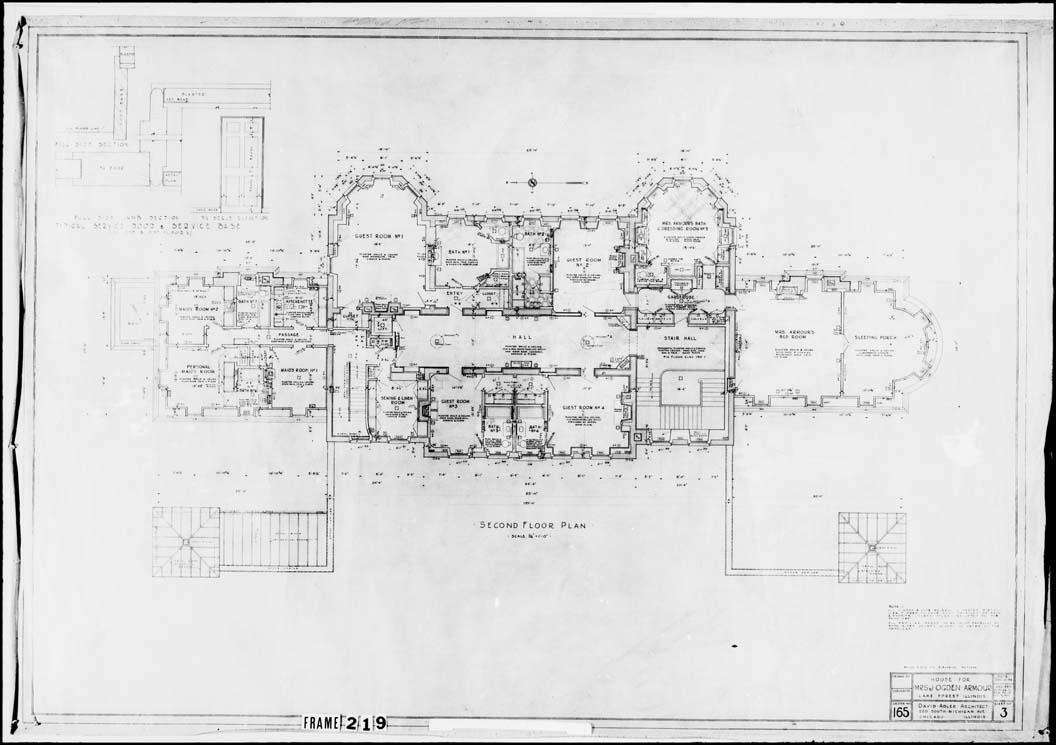 Armour, J. Ogden, Mrs., Residence