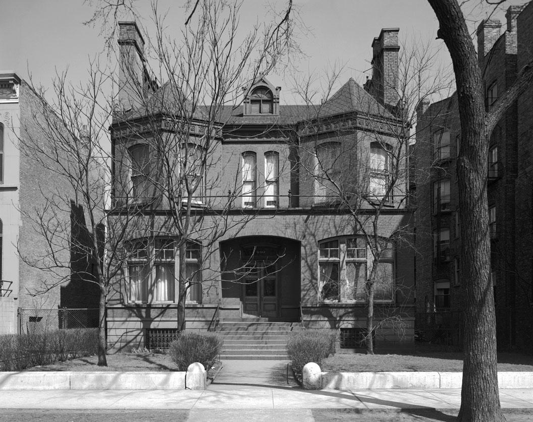 Halsted, Ann, Residence