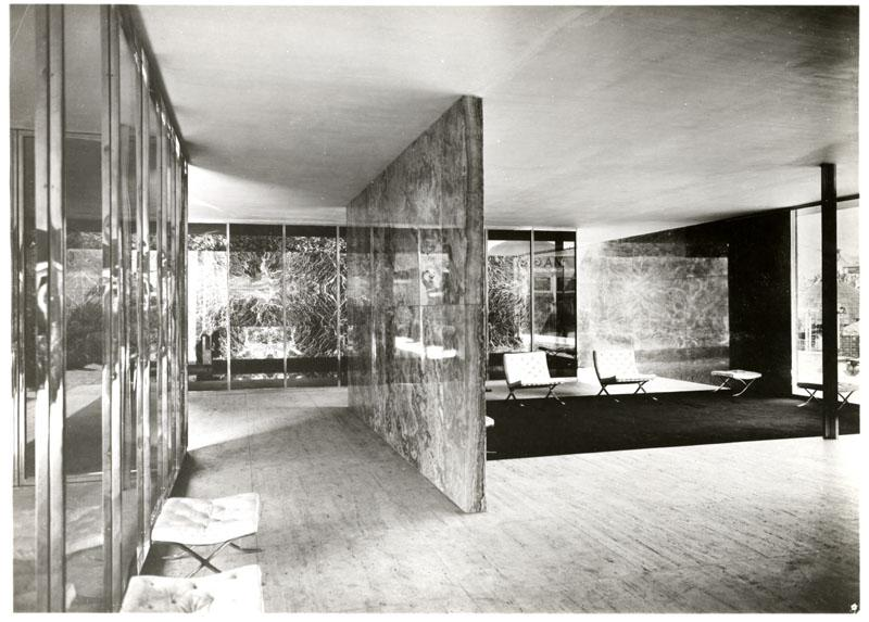 1929 International Exposition Barcelona Pavilion Ecc