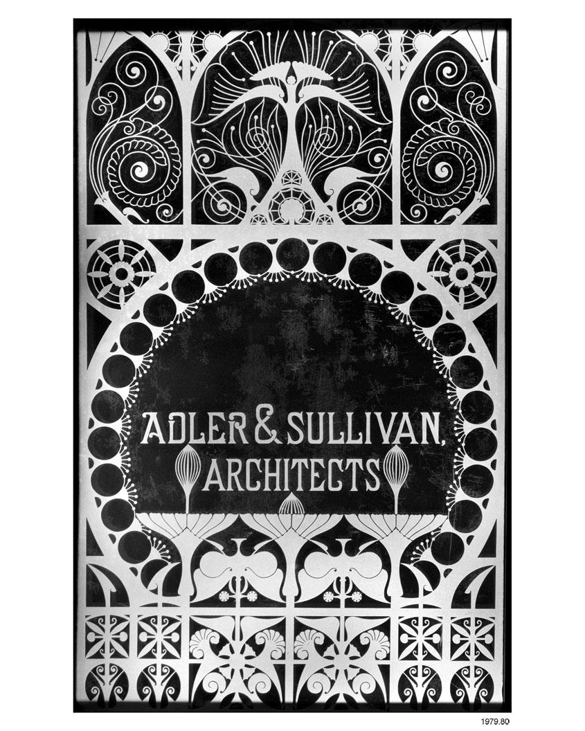 ECC | Adler & Sullivan, Architects [glass panel]