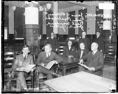 [Assistant State's Attorneys James C. O'Brien, John Prystalski, former Lieutenant Carl Wanderer, attorney John A. Guthrie]
