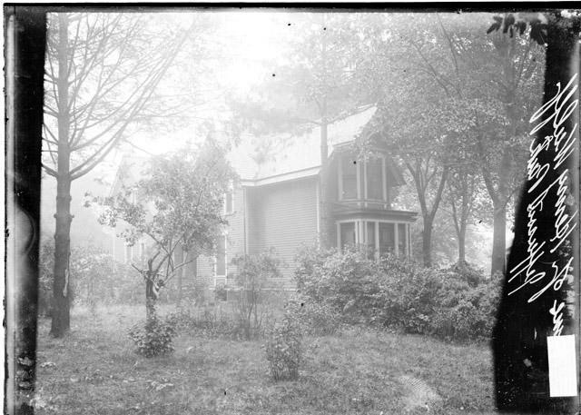 [Henry Wulff residence in Jefferson Park, light exposure]
