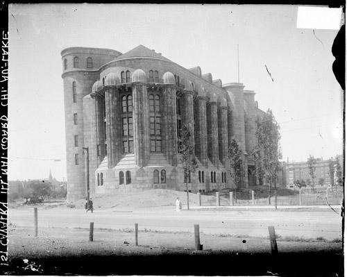 [1st Cavalry Illinois National Guard new armory building, Chicago Avenue and Lake Shore Drive]