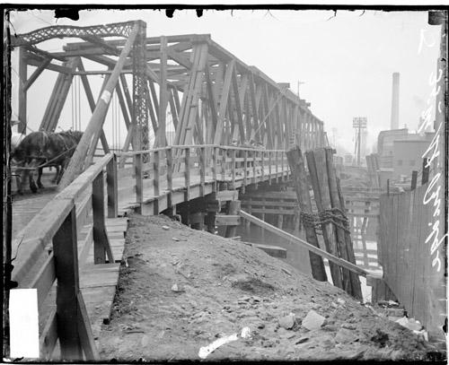 [Thirty-fifth Street Bridge, view along length]