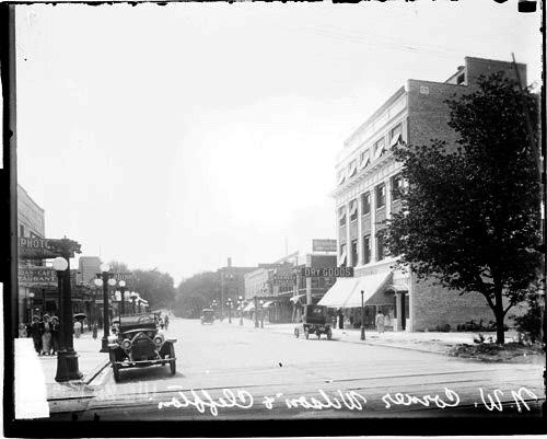 [Northwest Corner of North Clifton and West Wilson Avenues]