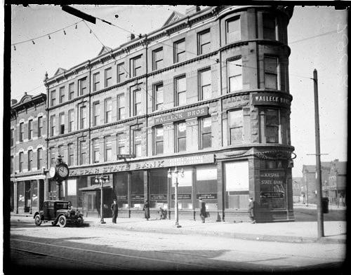 [Kaspar State Bank, 1900 Blue Island Avenue, Lower West Side community area]