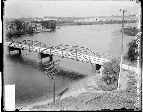 [Bridge over the Fox River near Cary, Illinois]