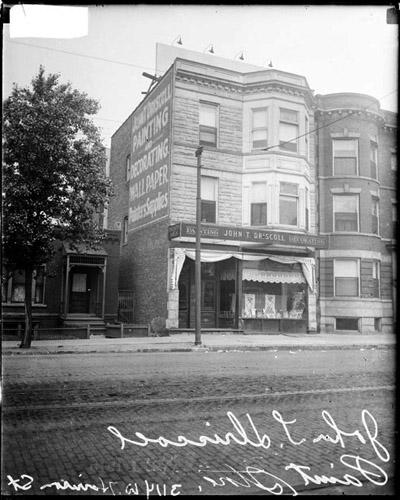 [John T. Driscoll's paint store, 3114 West Harrison Street]