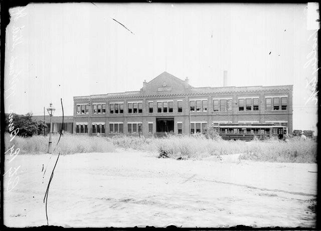 [City railway barns, 79th and State Streets]