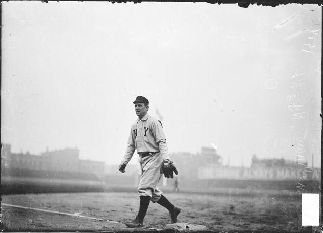 ECC | [New York Giants baseball player John J. McGraw, walking on