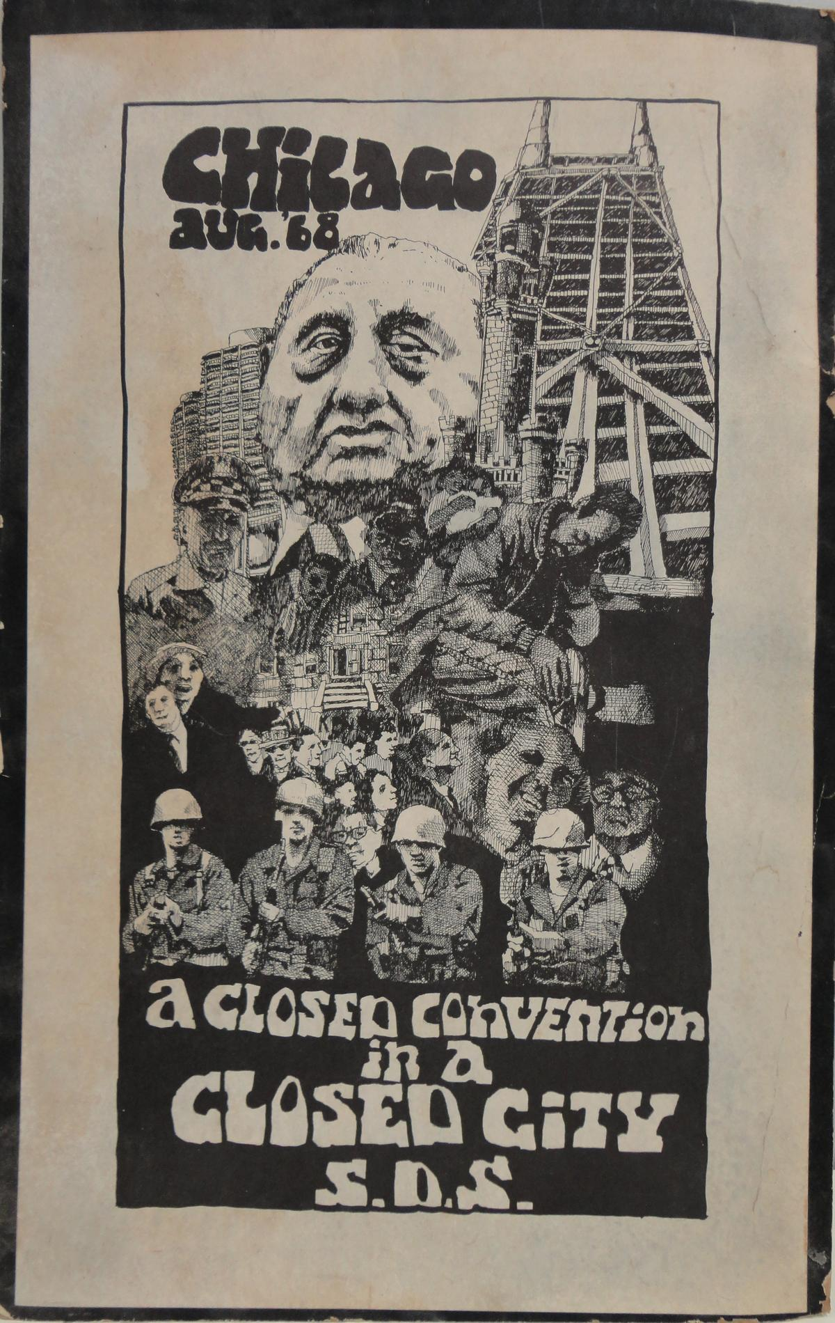 Chicago Aug. 68: A Closed Convention in a Closed City, S.D.S.