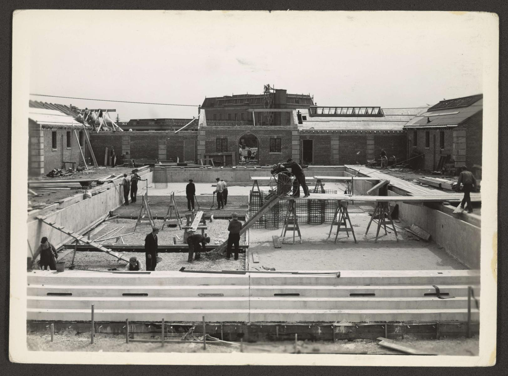 Riis Park (0123) Features - Swimming pools, construction and renovation of, 1936-05-06
