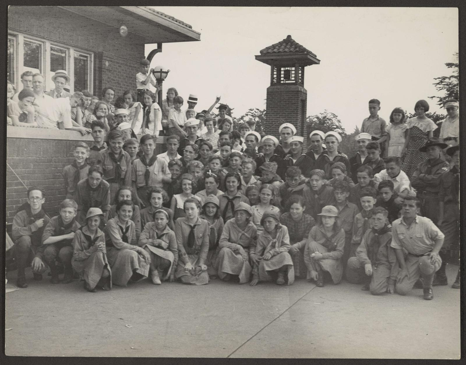 Portage Park (0147) Events - Holiday celebrations - Independence Day, 1935-07-04
