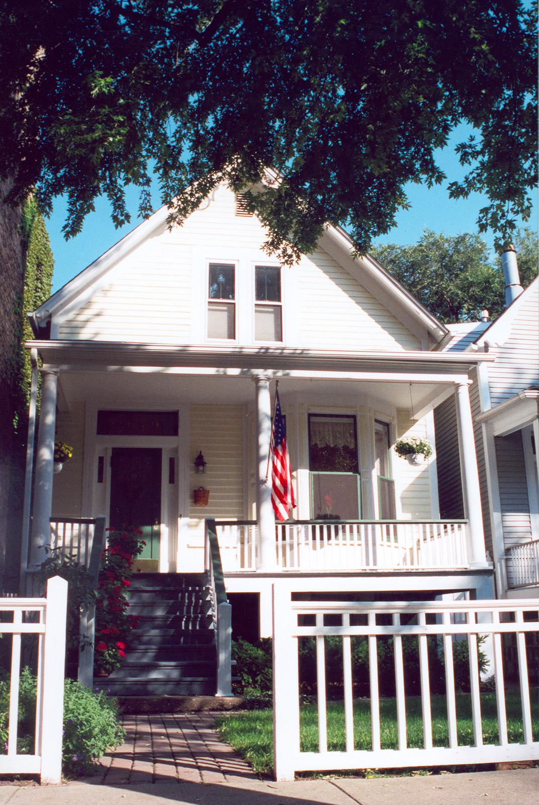 Open URL 2679 N. Orchard St.; Workers' Cottage