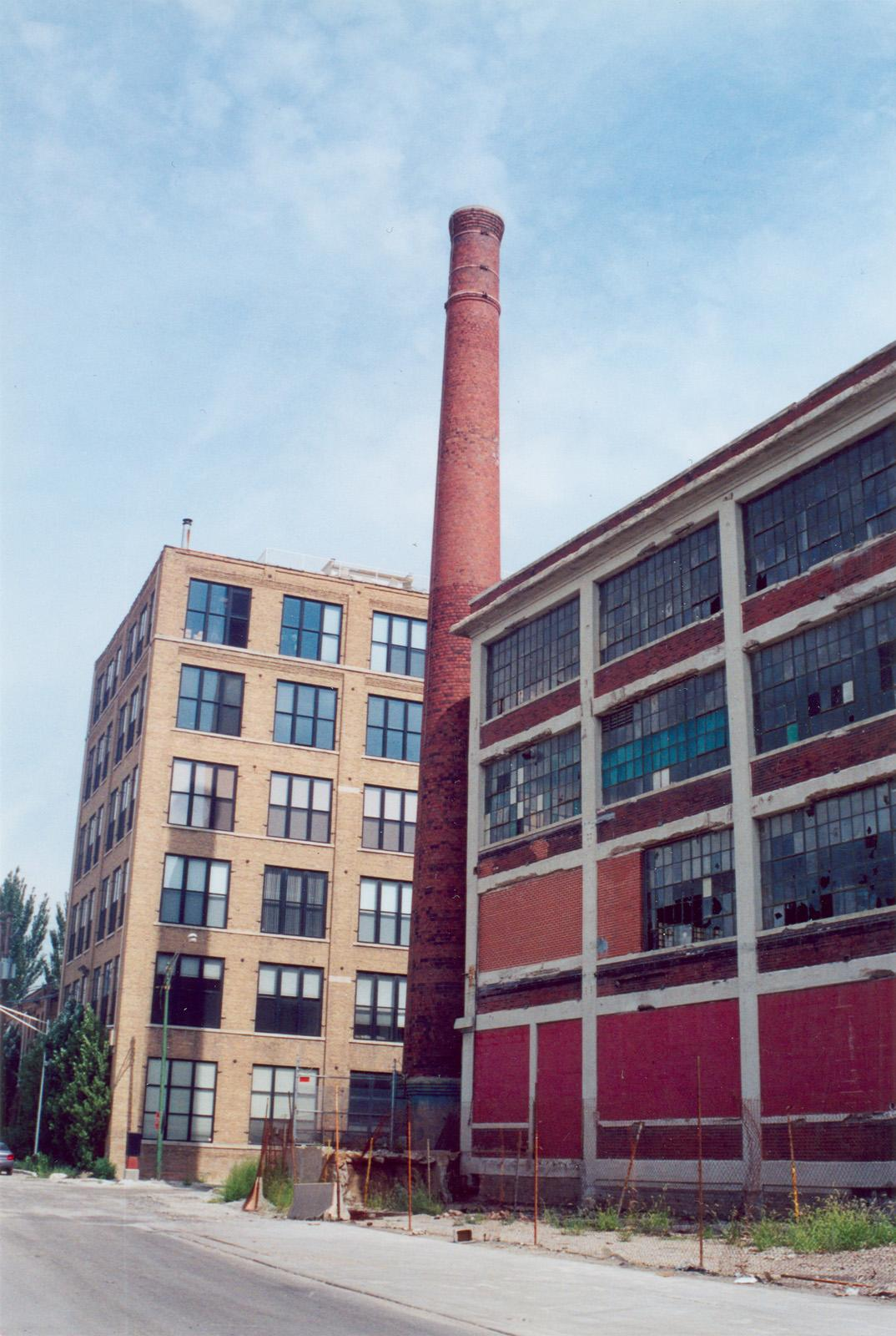 1840 N. Clybourn Ave.; Artmark; Industrial building; Factory