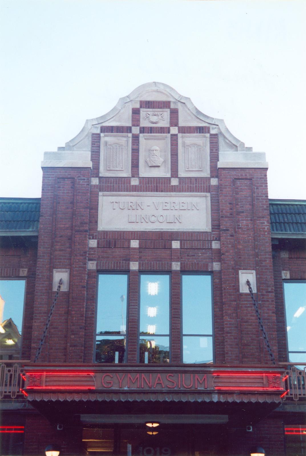 1015-1023 W. Diversey Pkwy.; Turn-Verein Lincoln Gymnasium; Gymnasiums