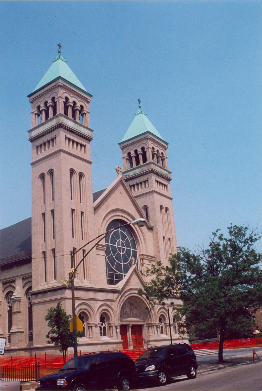 1010 W. Webster Ave.; St. Vincent DePaul Church; Church building