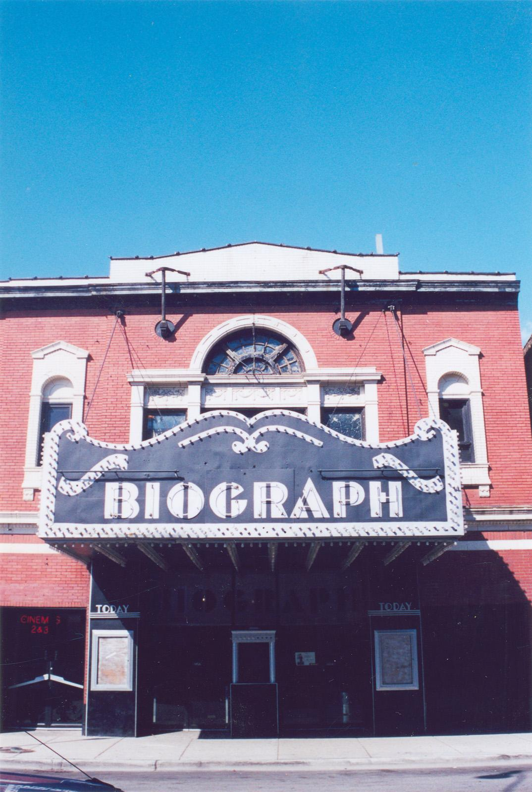 2433 N. Lincoln Ave.; Biograph Theater; Motion picture theaters