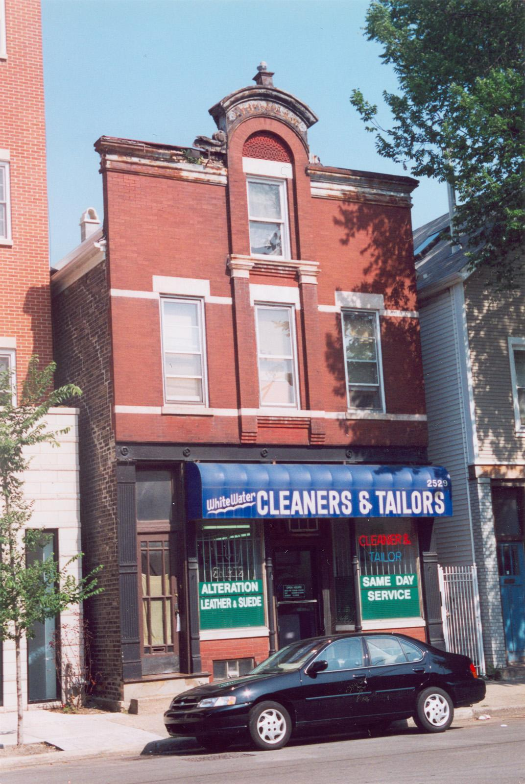 2529 N. Southport Ave.; Apartment; Commercial building