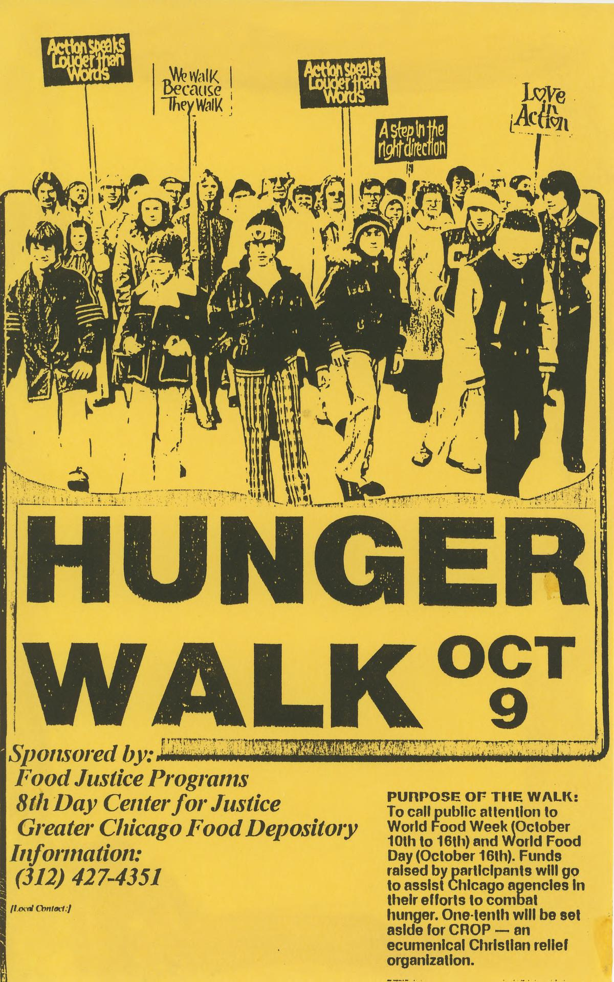 8th Day- Hunger Walk