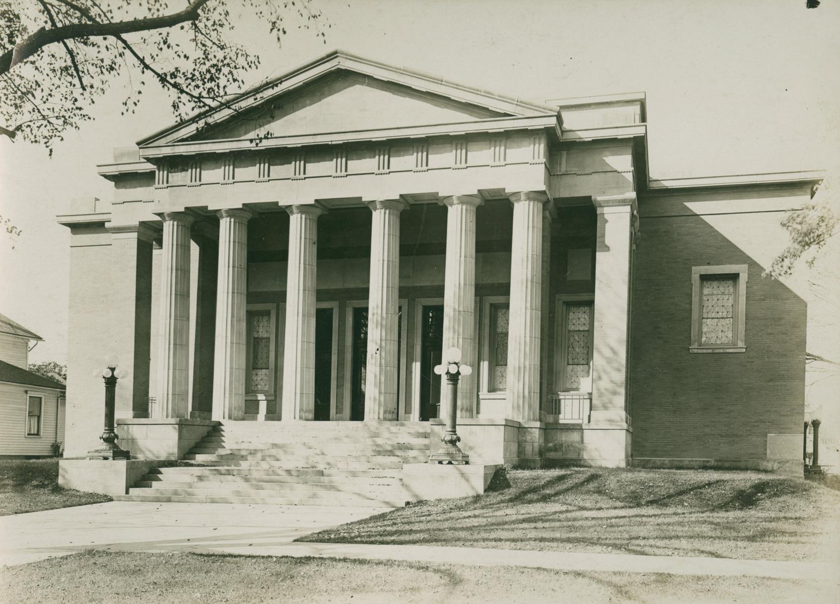 First Church of Christ, Scientist, Evanston, Illinois, early 20th century