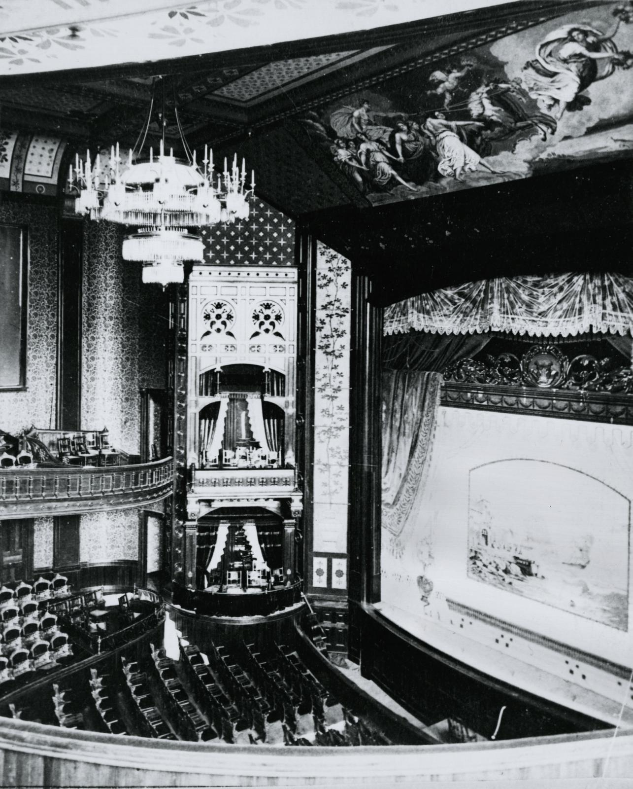 Academy of Music, Kalamazoo, Michigan, 1880s?