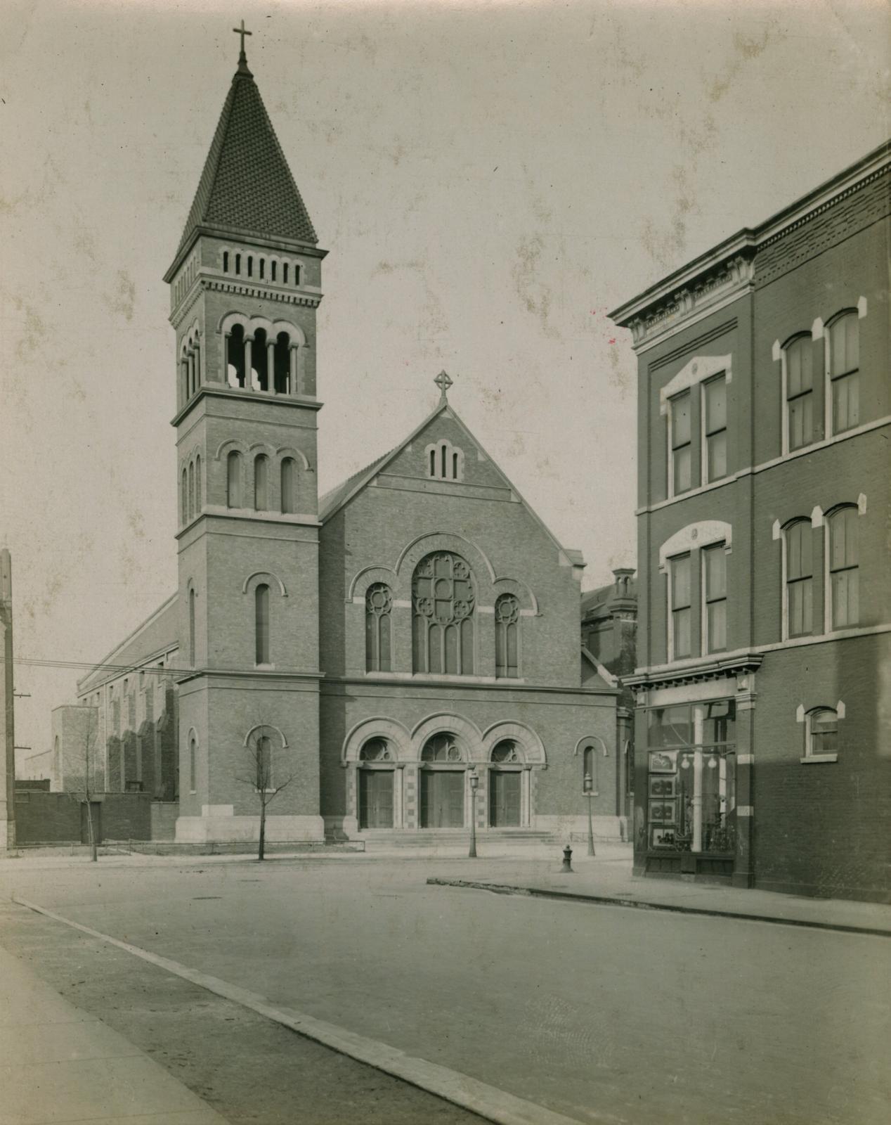Saint Bridget's Catholic Church, Chicago, 1913