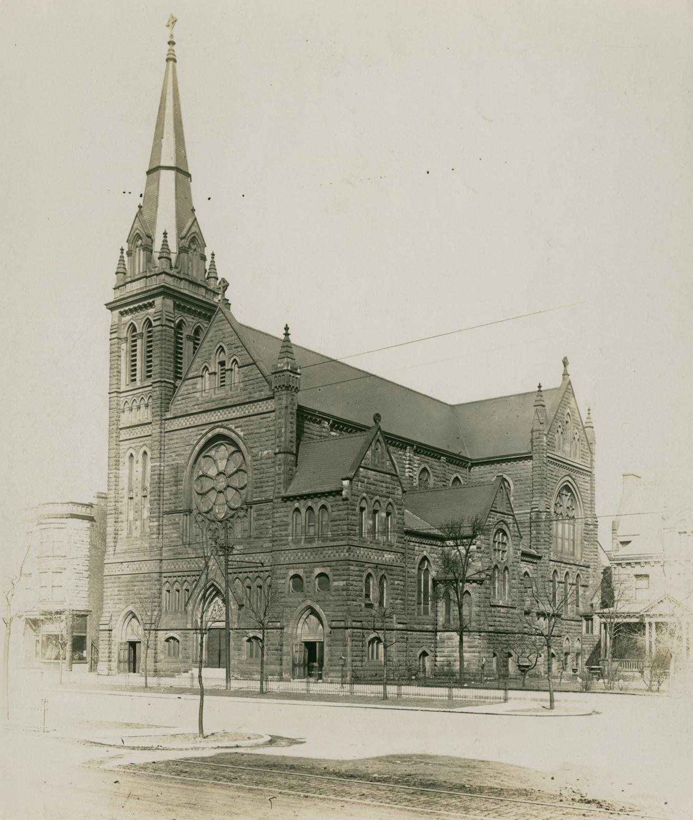 Saint Charles Borromeo Church, Chicago, 1913