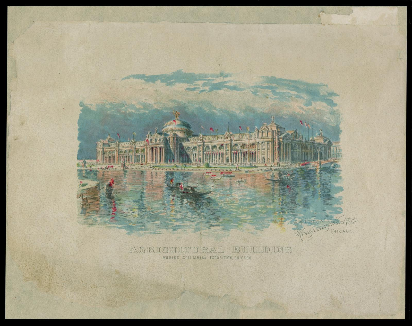 Agricultural building: Worlds Columbian Exposition, Chicago