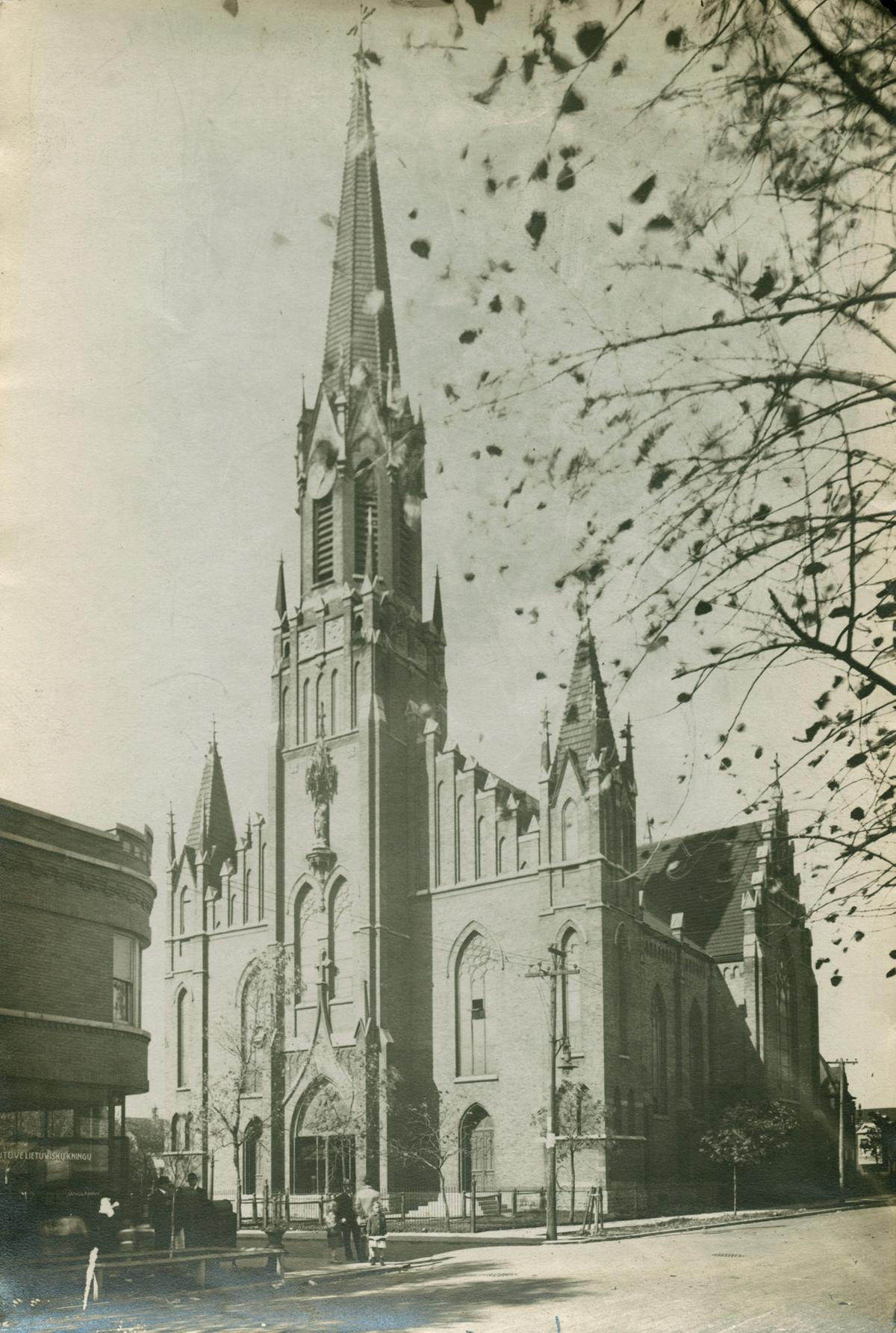 Saint George Lithuanian Church, Chicago, 1913