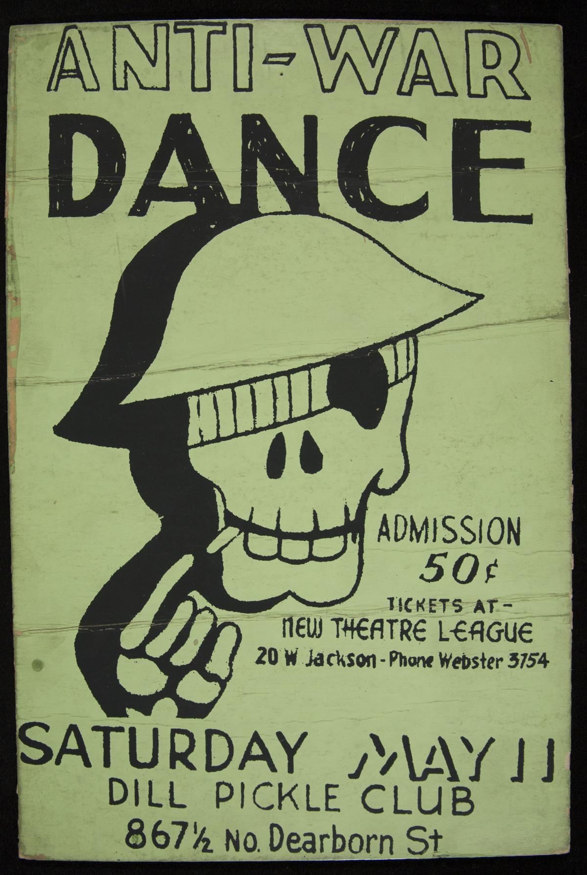 Anti-War Dance, Saturday, May 11