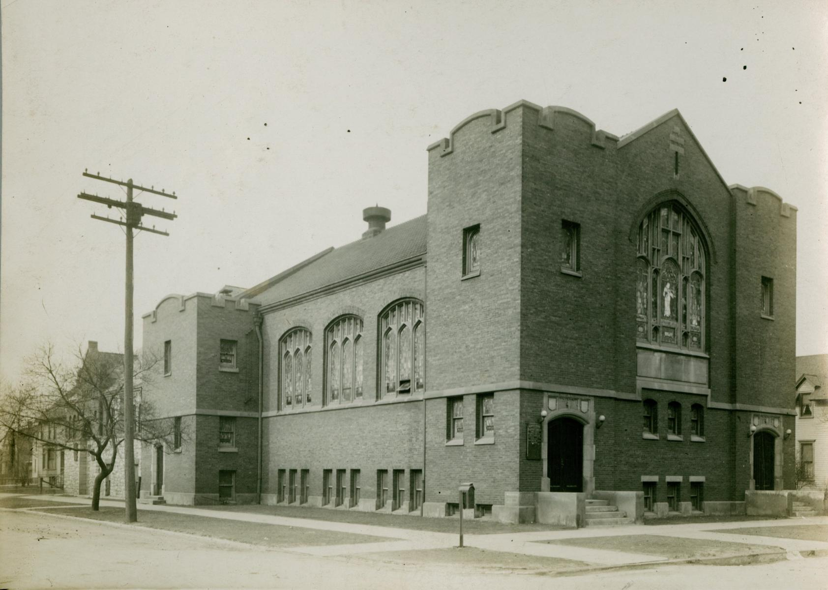 Normal Park Baptist Church, Chicago, 1913