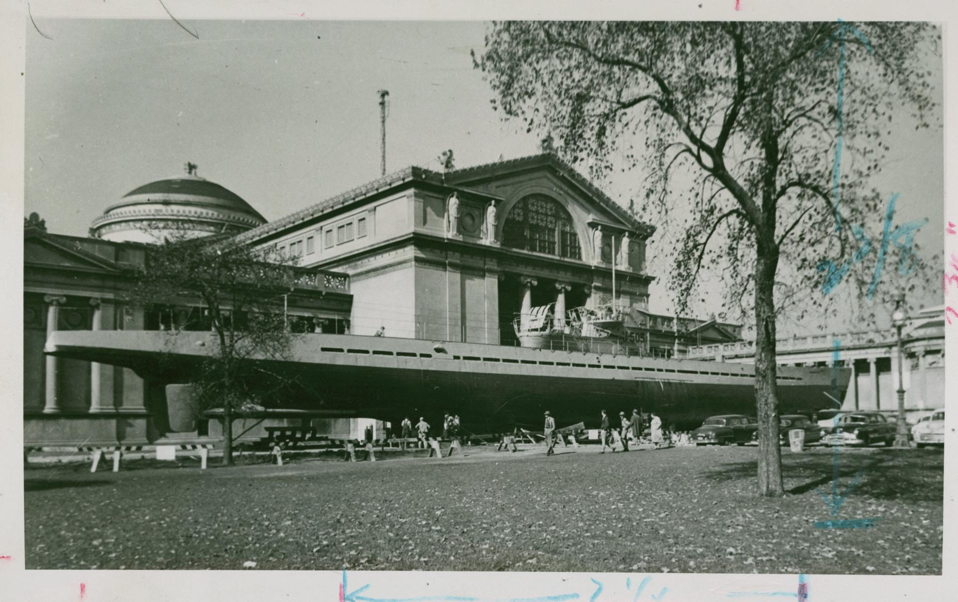 Museum of Science and Industry, Chicago, 1960