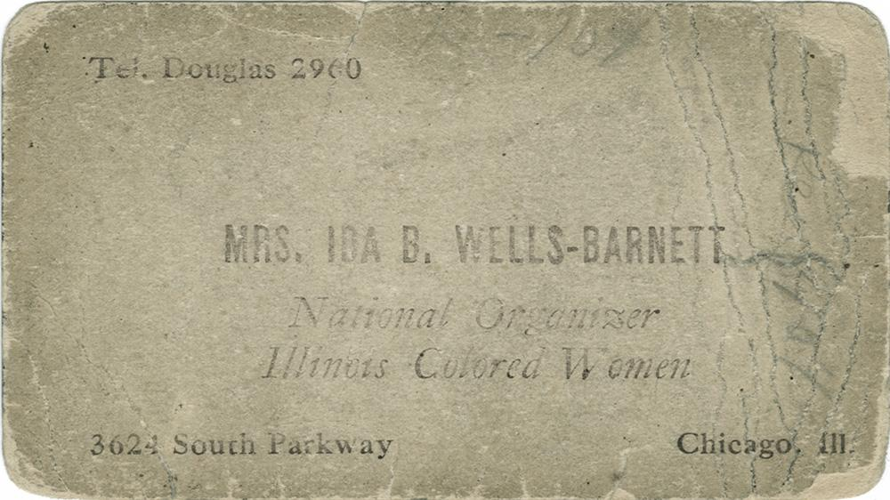 Wells-Barnett, Ida B.: Documents