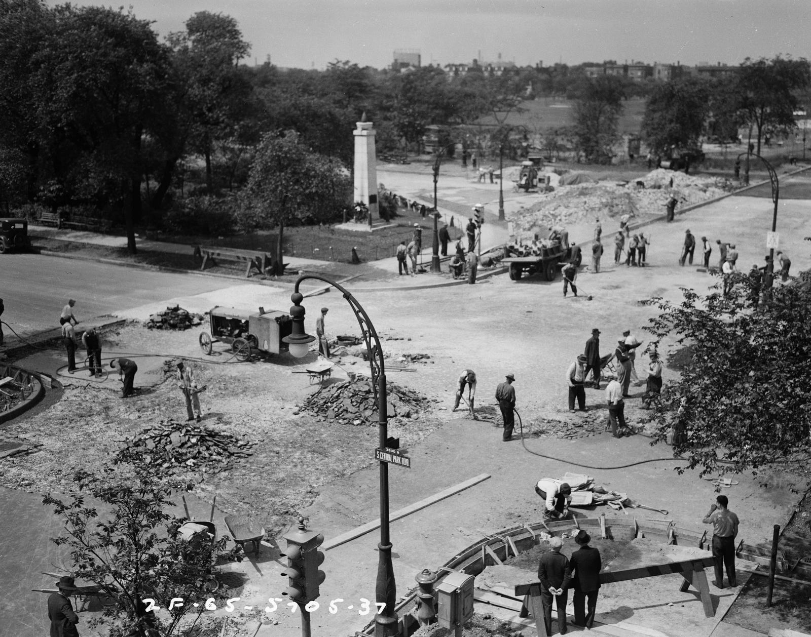 Traffic Intersection at Central Blvd and Jackson Blvd (image 05)