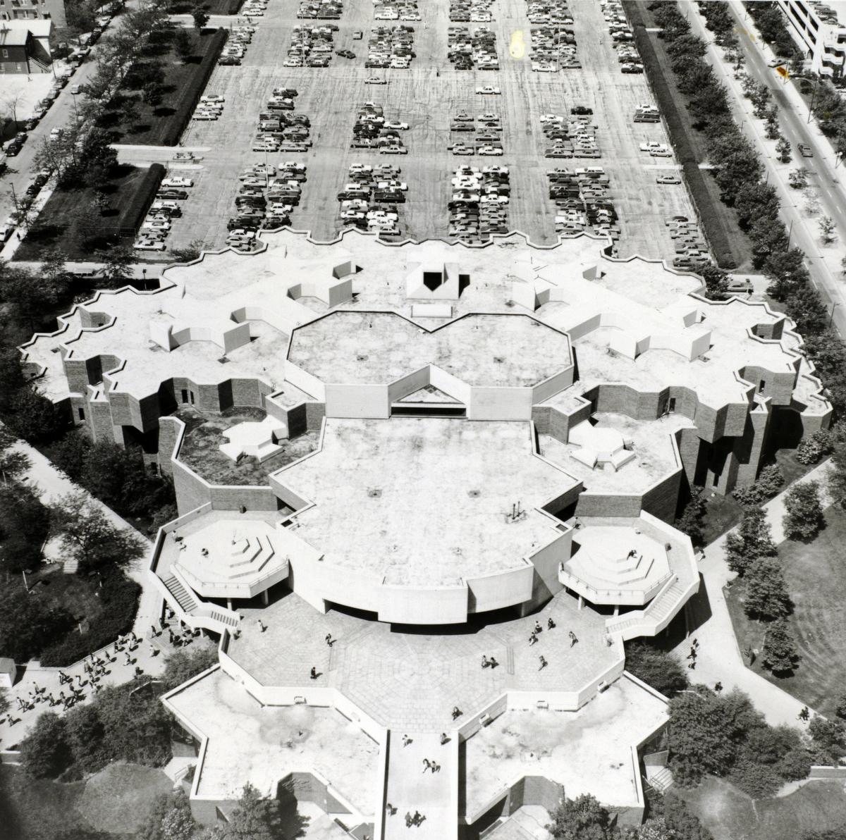 Behavioral Science Building, ca. 1979