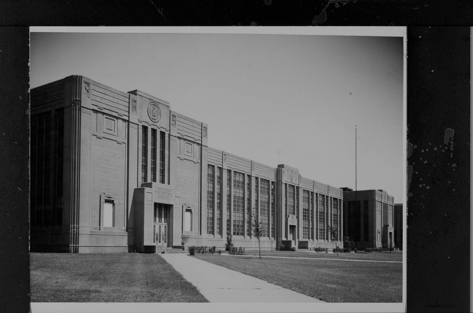 Chicago Vocational School, East 87th Street and South Anthony Avenue