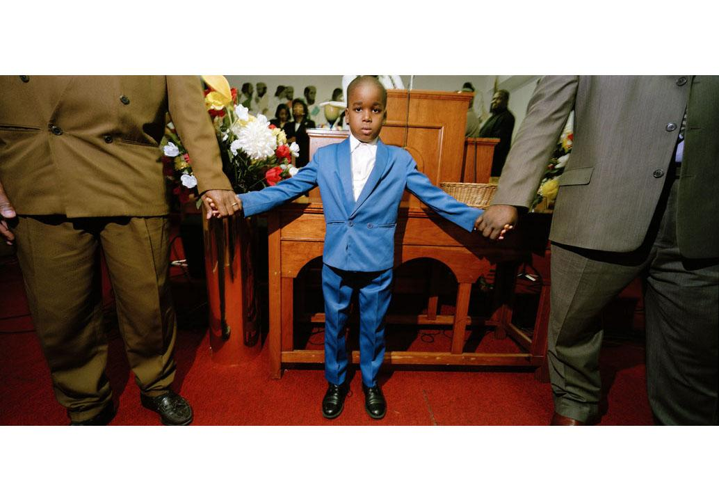 Boy at Church
