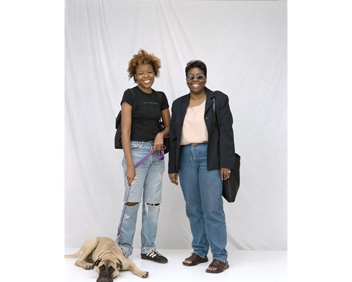 Seamless curtain portraits, image 005