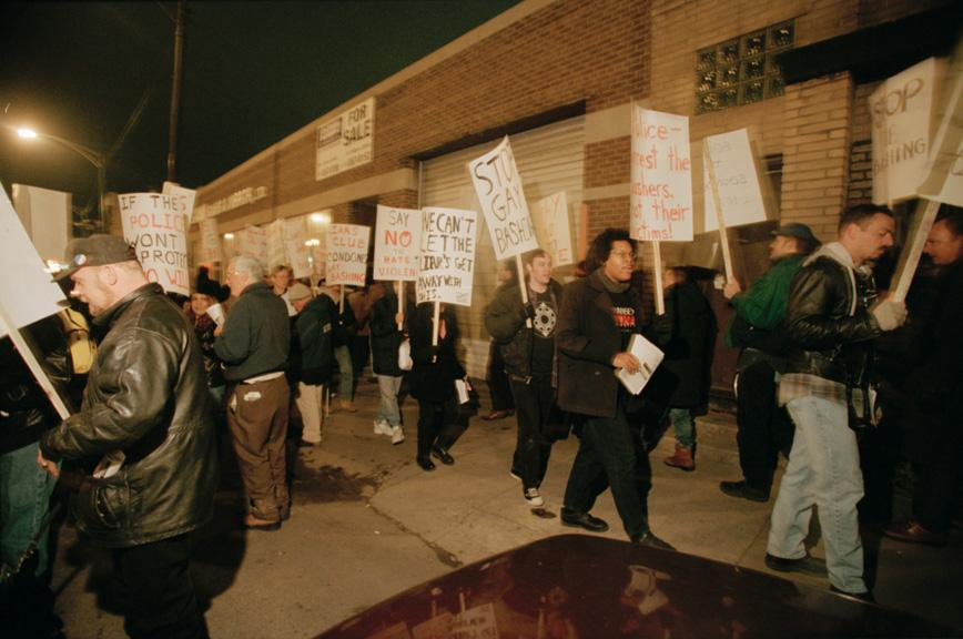 Anti-Bashing Network protests, image 04