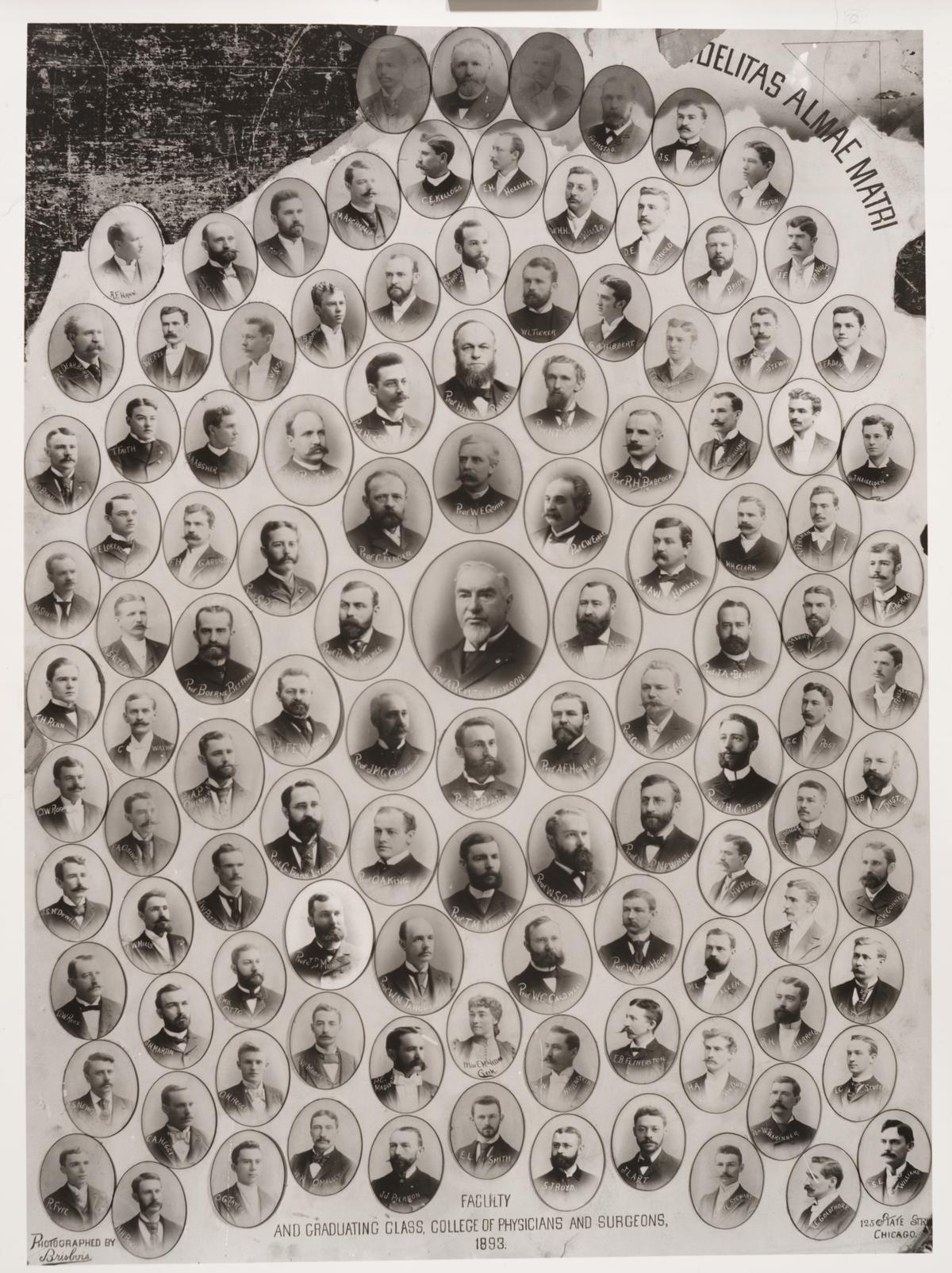 1893 graduating class, University of Illinois College of Medicine