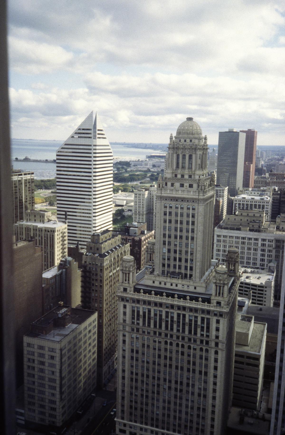 High-rise buildings in Chicago's Loop