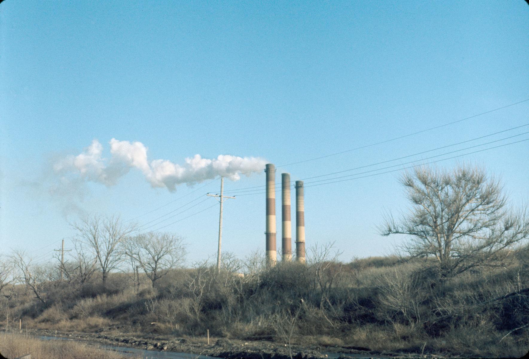 City Incinerator smokestacks
