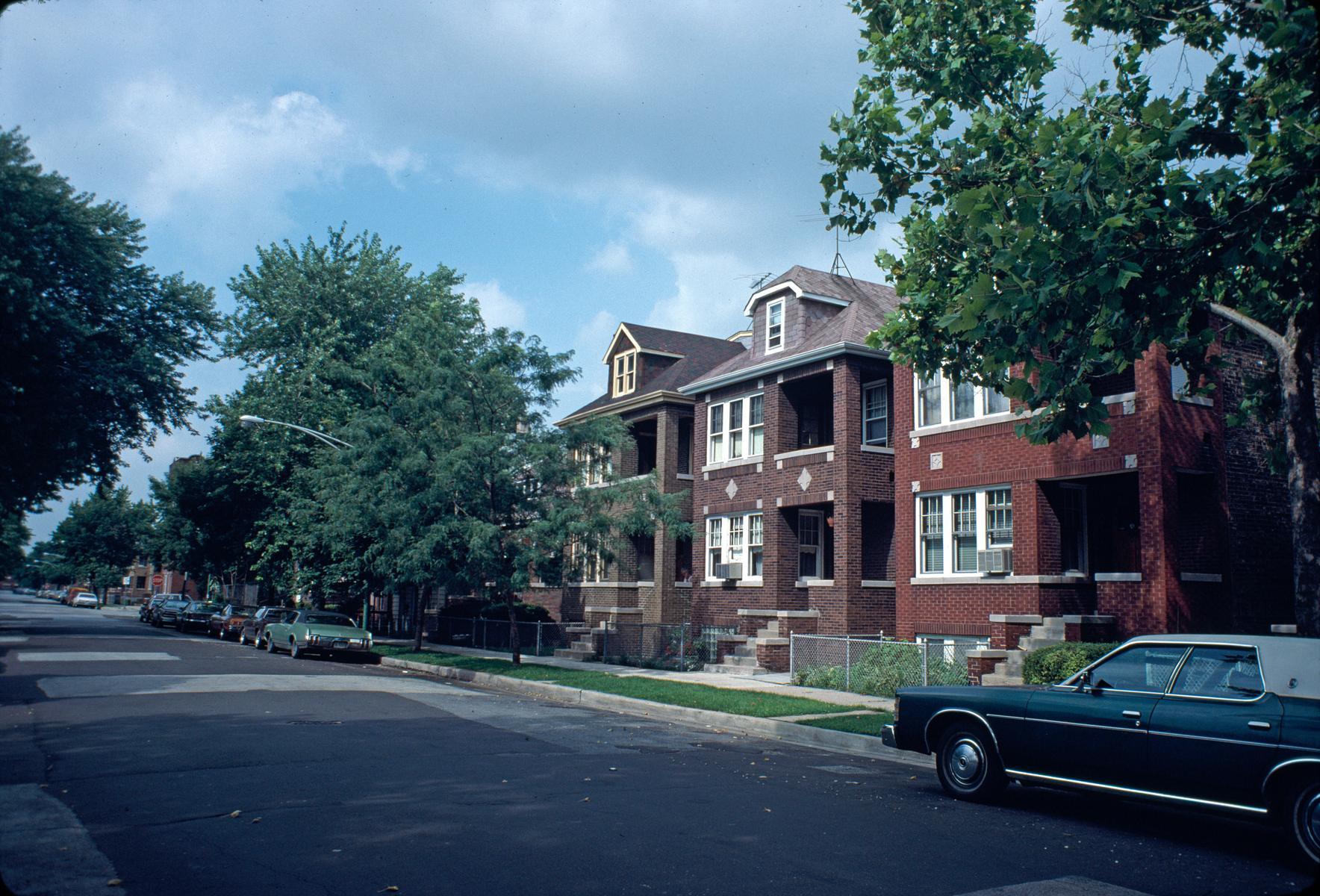 Apartment buildings, South Lowe Avenue