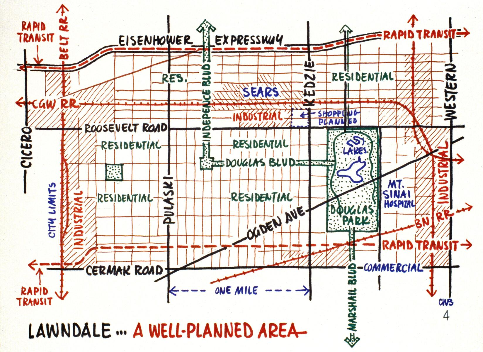 Proposal for Lawndale: planned infrastructure