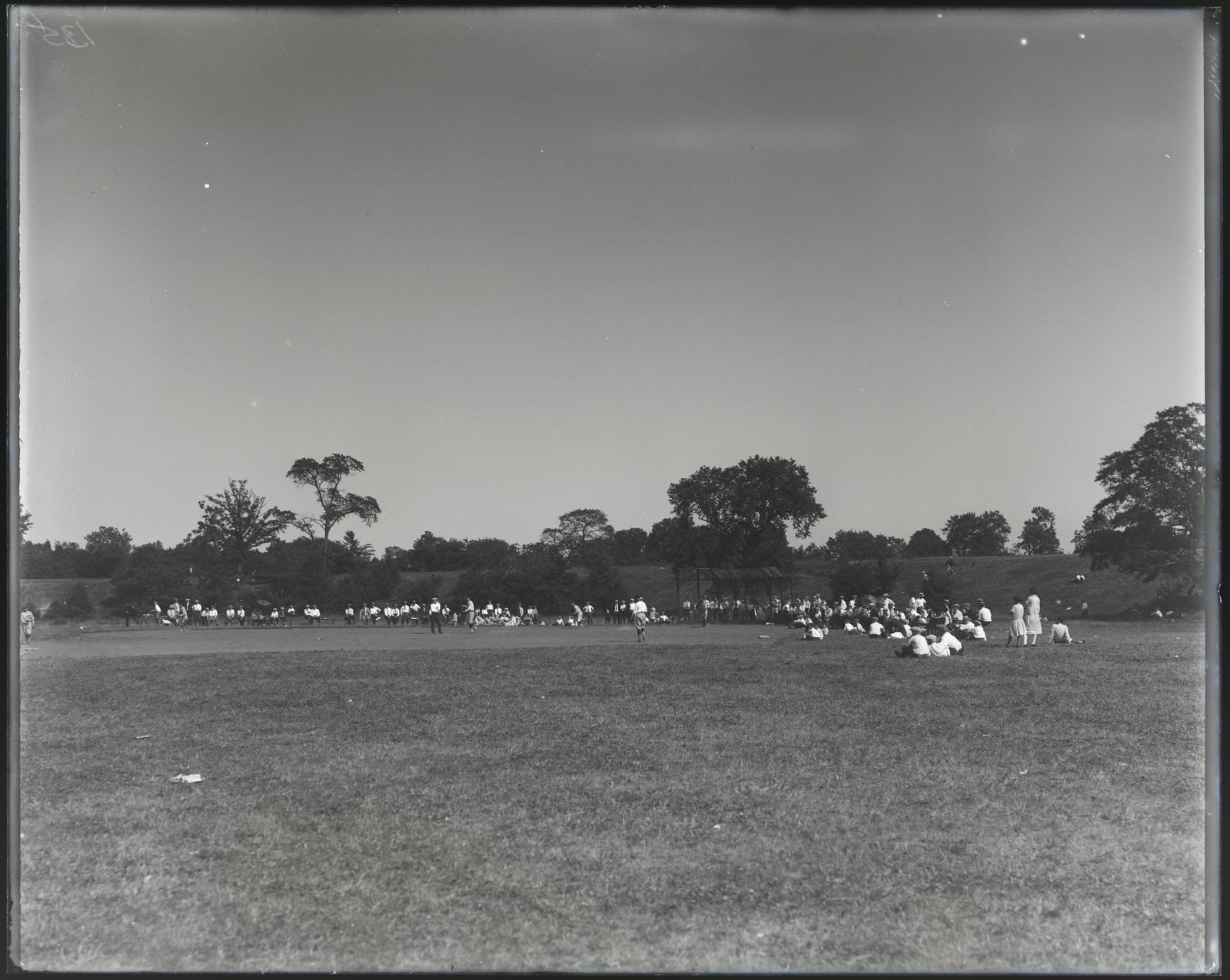 Activities, Baseball at Large Picnic