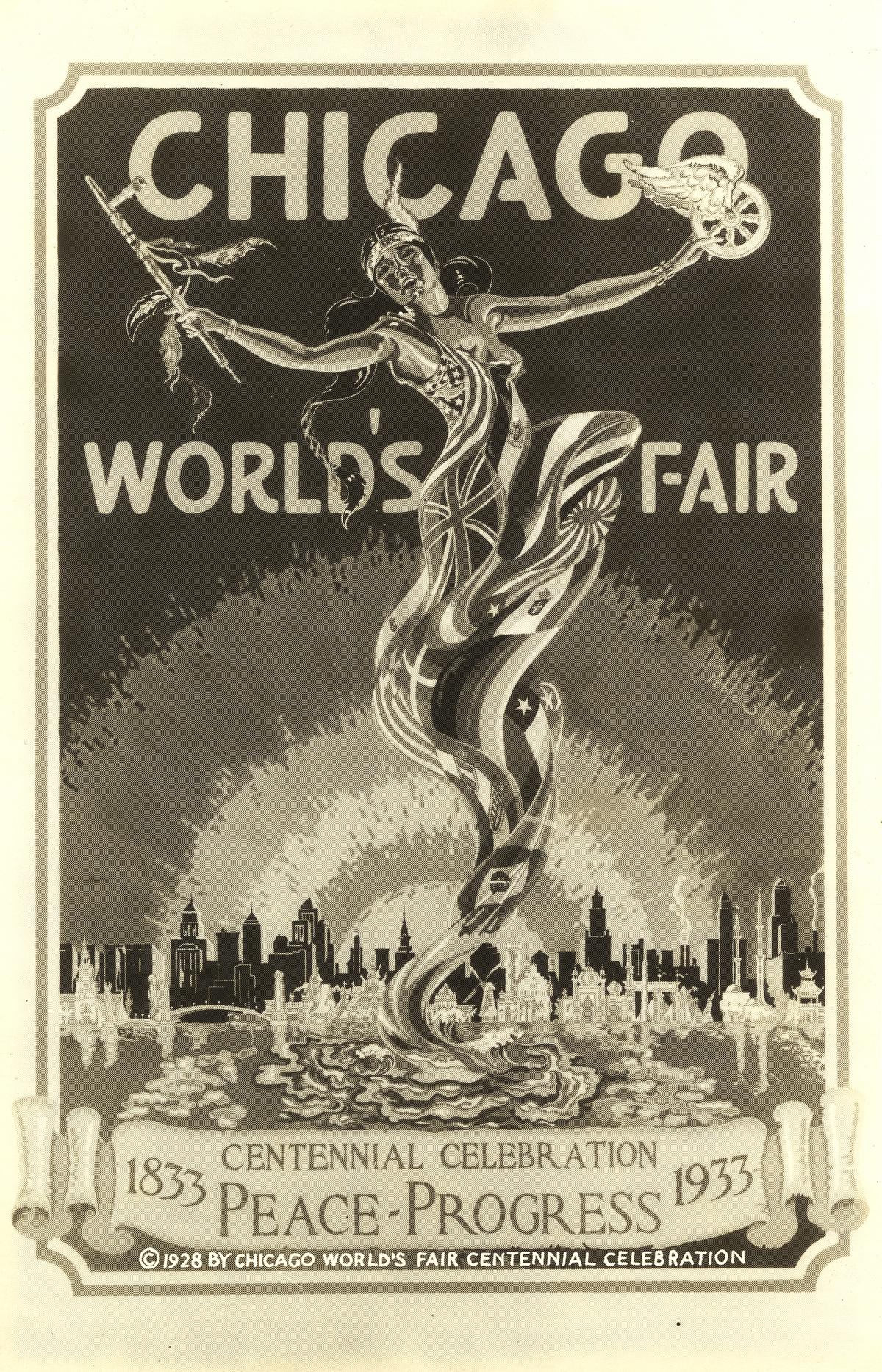 A 1933 promotional poster for A Century of Progress International Exposition.