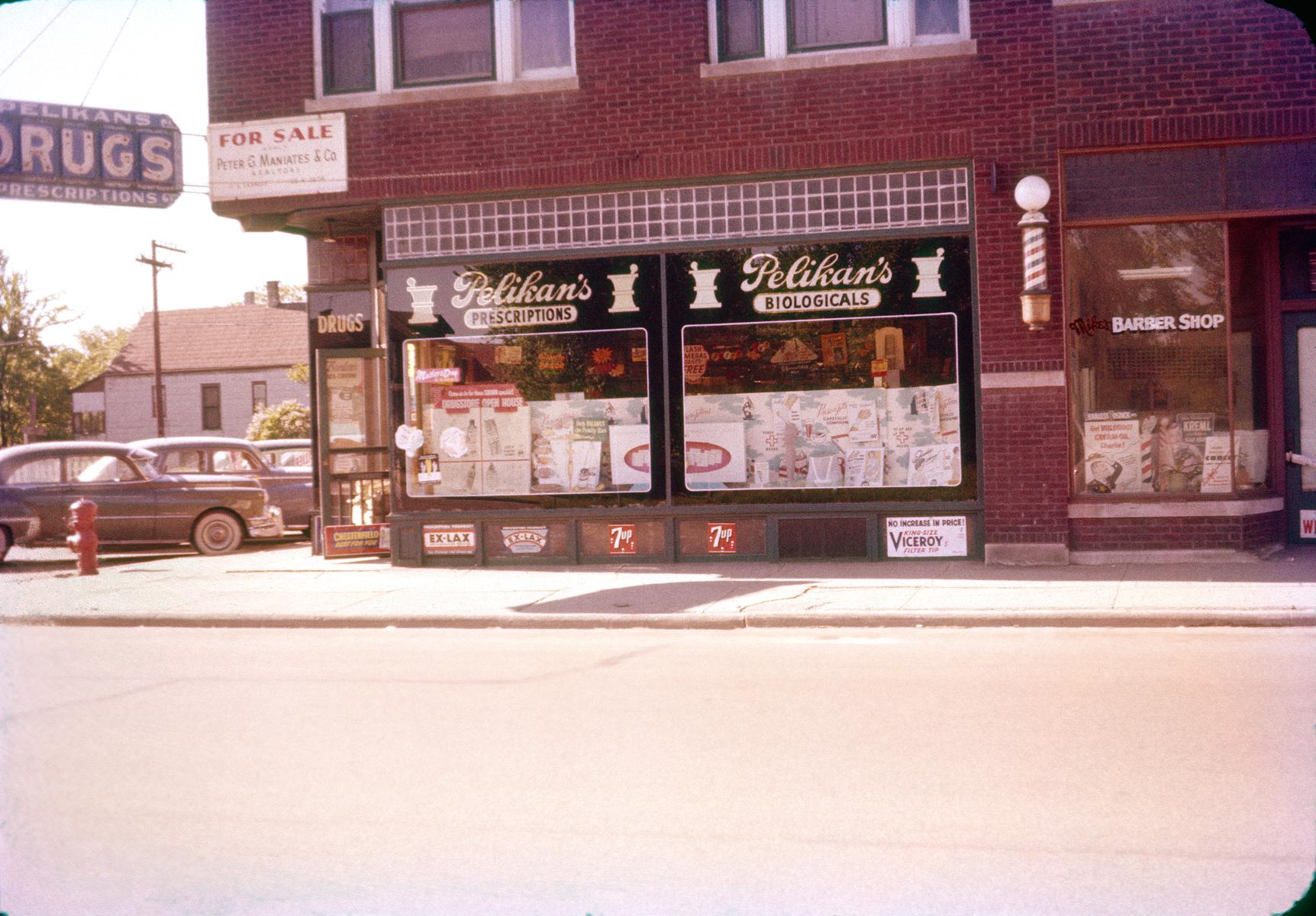 Pelikan Drugs, 12th Street and Home