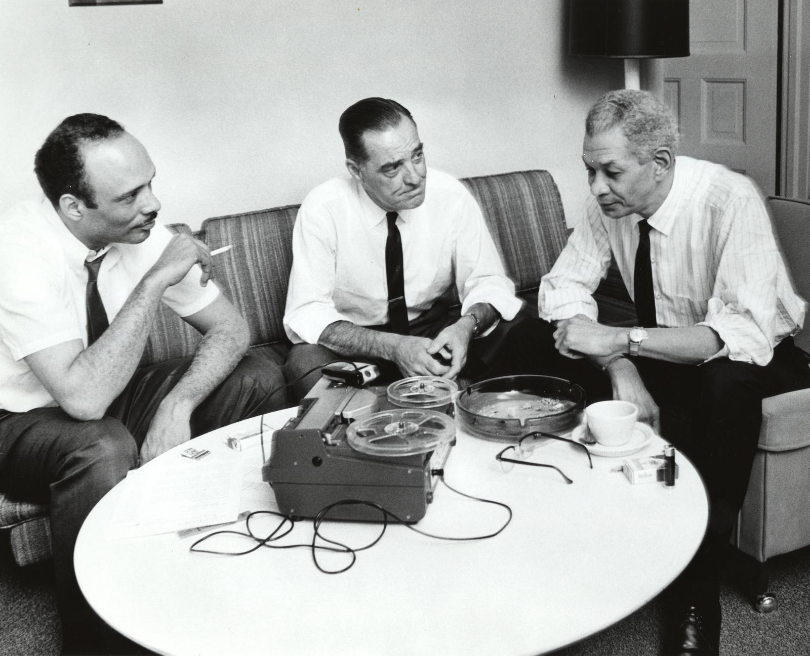 Al Raby, Bill Berry, and Mel Hosch