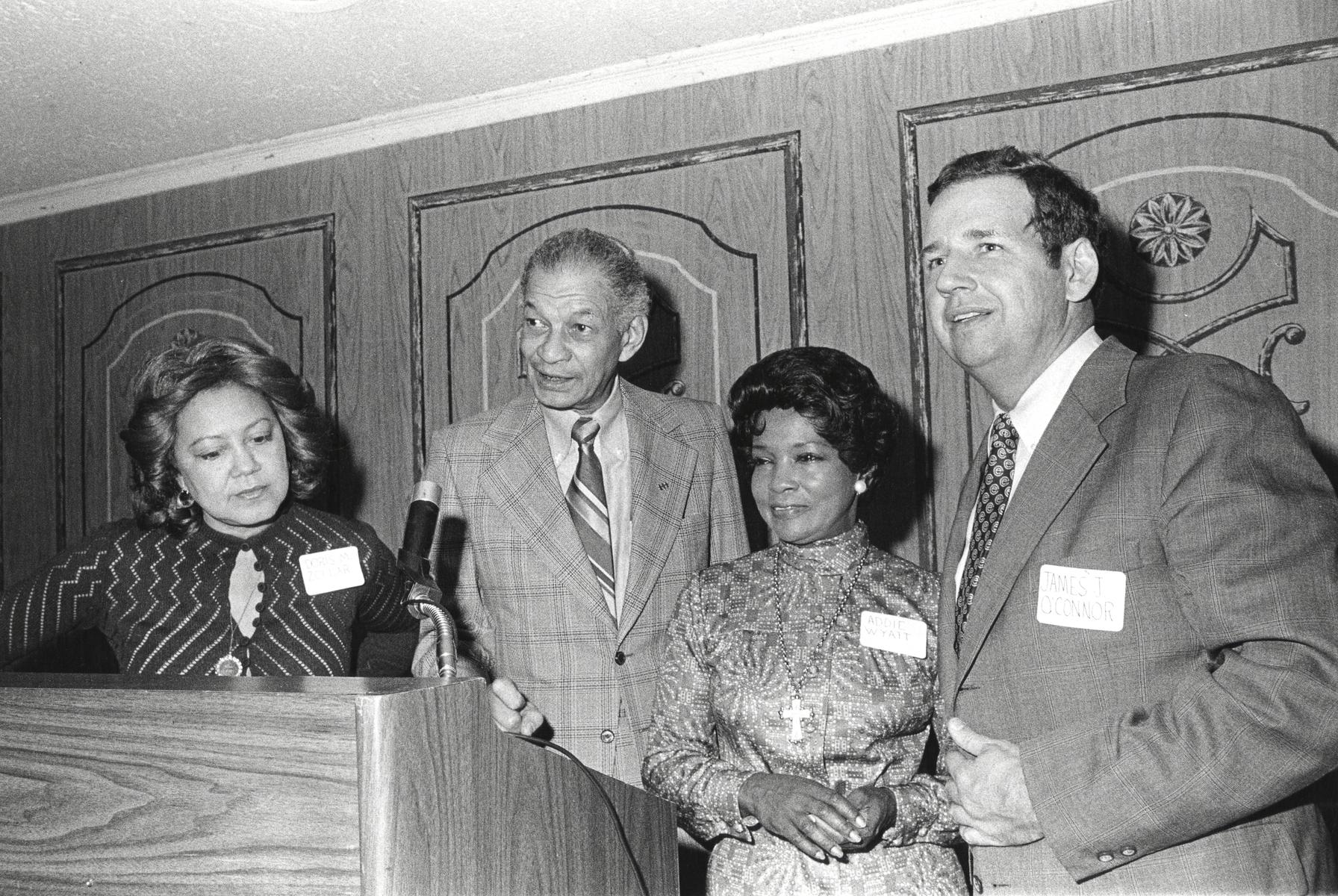 Addie Wyatt, Bill Berry, Doris M. Zollar, and James O'Connor